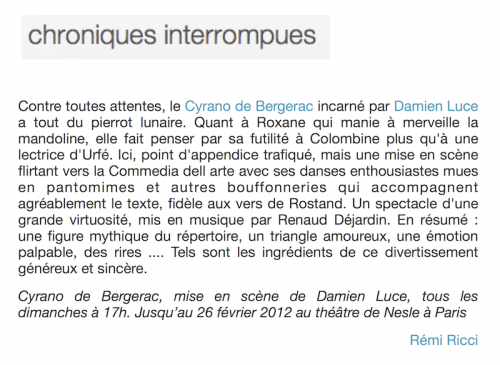 presse_chroniques_interrompues_cyrano_clown_damien_luce