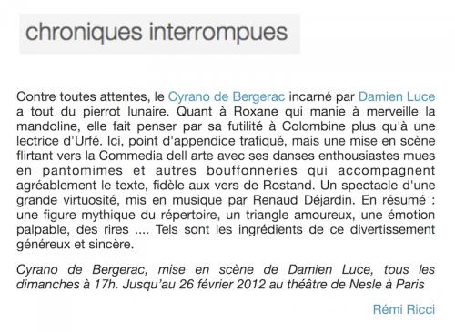 presse_chroniques_interrompues_cyrano_clown_damien_luce